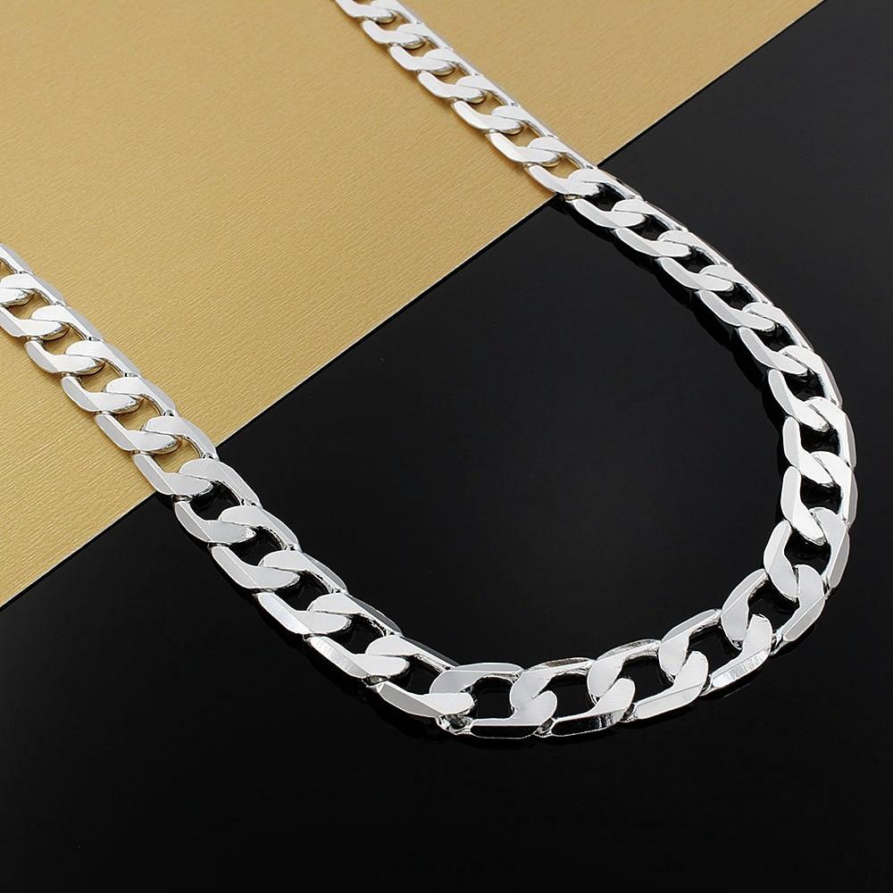 Цепочка-мужская-из-серебра-925-пробы-10-мм-20-24-дюйма