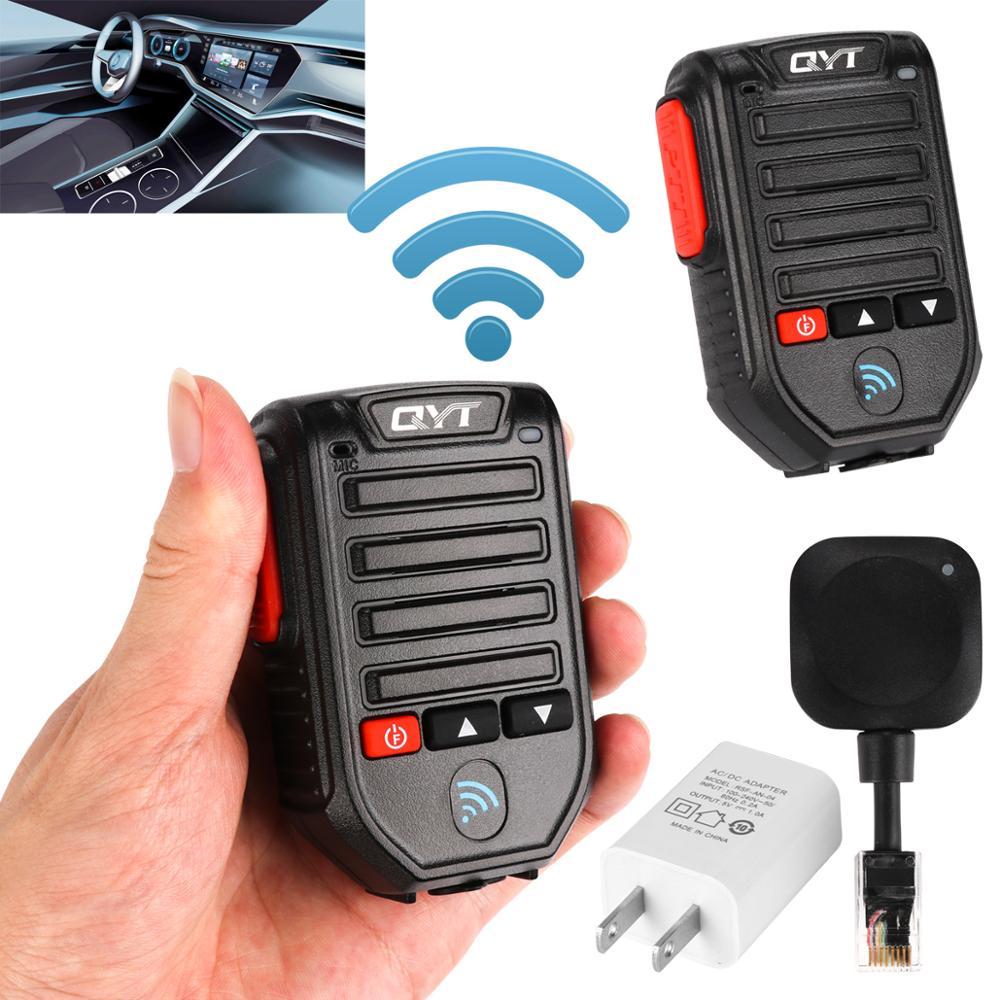 2021Baofeng BT-89 Portable Bluetooth Wireless Microphone QYT KT Series Mobile Broadcast Speaker 10 Meters Range Walkie Talkie