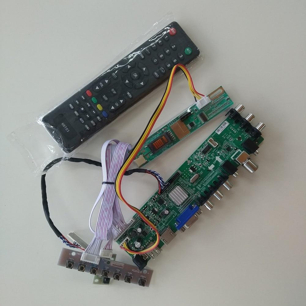Комплект для LTN154X1-L02/LTN154AT01 плата контроллера 1 CCFL HDMI lcd DVB-T DVB-C ТВ Панель VGA USB AV Цифровой 1280X800 30pin 15,4