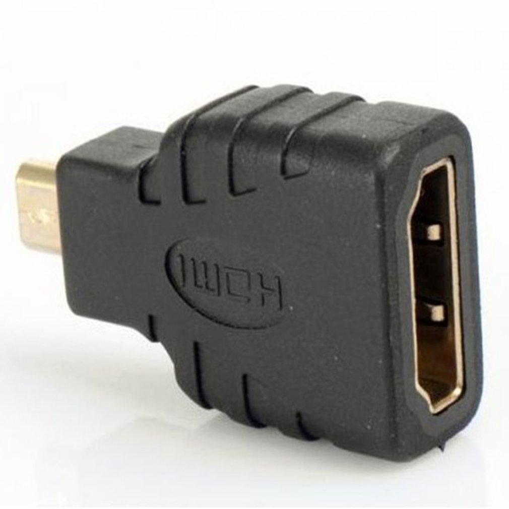 Адаптер Micro-HDMI к HDMI позолоченный 1080P Micro HDMI папа к стандарту HDMI для Raspberry Pi 4 Модель B