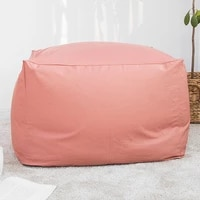 japanese style unfilled lounge bean bag sofa cover home soft lazy sofa cozy single chair pouf couch tatami living room decor