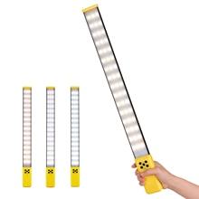 Легкая портативная Светодиодная лампа для фотосъемки заполняющая лампа 3000 K 5700 K с регулируемой яркостью CRI95 Встроенная перезаряжаемая батарея