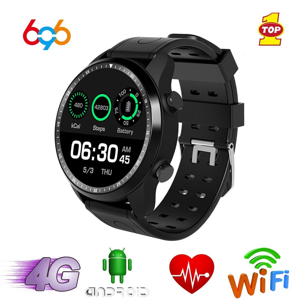 696 KC03 4G Smart GPS Android 6,0 IP67 impermeable reloj inteligente con Bluetooth, Wifi 1GB + 16GB reloj 2.0mp Cámara Smartwatch de deportes