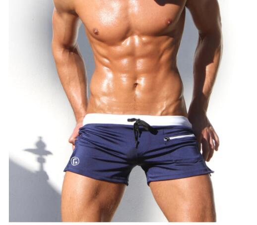 2020 летняя одежда для плавания, Мужской купальный костюм, купальные костюмы для мальчиков, боксеры, шорты, плавки, плавки для плавания, Banadores ...