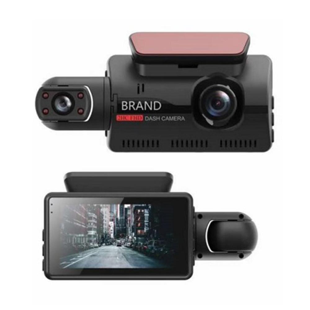 Cámara de coche Full HD de 720p con Control de aplicaciones, función HDMI inalámbrica inteligente con 156 ° de gran angular, grabación en bucle de cámara F1.8 de apertura