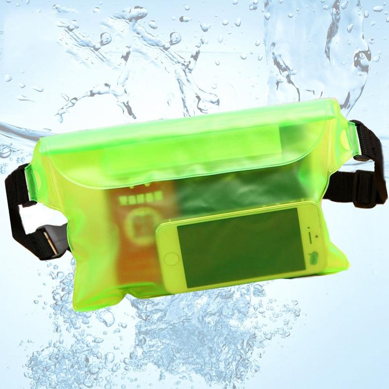 AliExpress - 3 Layers Waterproof Sealing Drift Diving Swimming Waist Bag Skiing Snowboard Underwater Dry Shoulder Bag For Phone