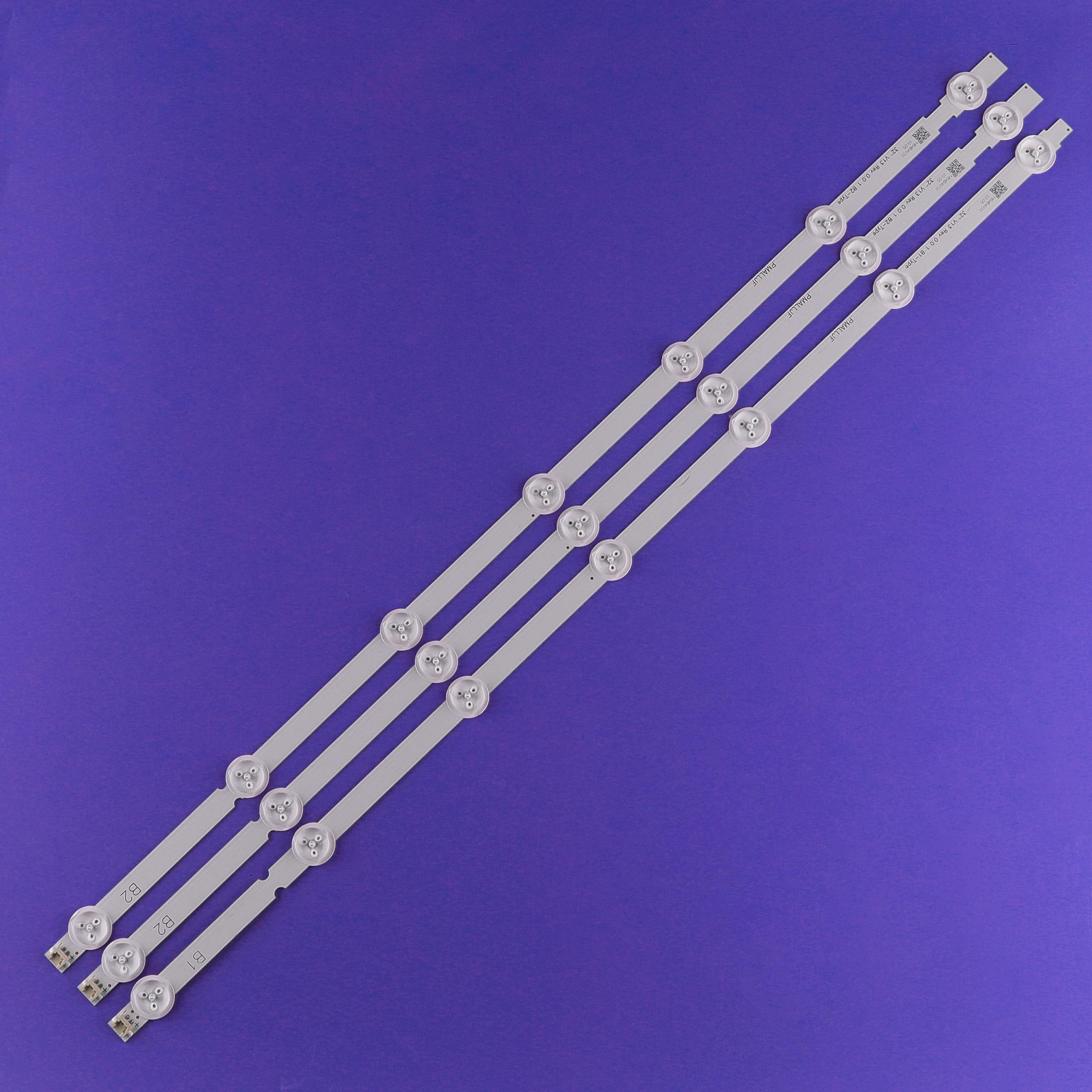 15 قطعة * 7LED LED شريط إضاءة خلفي استبدال متوافق ل 32LN541V 32LN540V B1/B2-Type 6916L-1437A 6916L-1438A LC320DUE SF R1