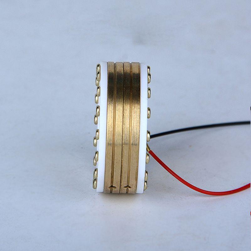 34mm Microphone Large Diaphragm Cartridge Core Capsule for Condenser Mic Head LX9B