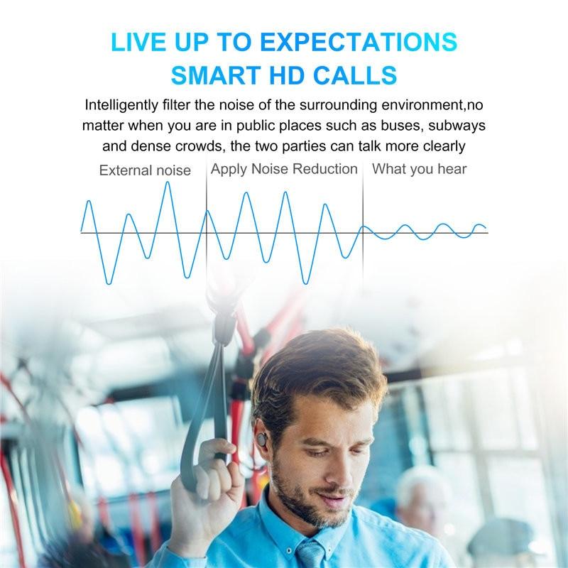 Y30 TWS Bluetooth Earphones Wireless Headphones Noise Cancelling Earbuds Sport Waterproof Bluetooth Headsets for Smartphones enlarge