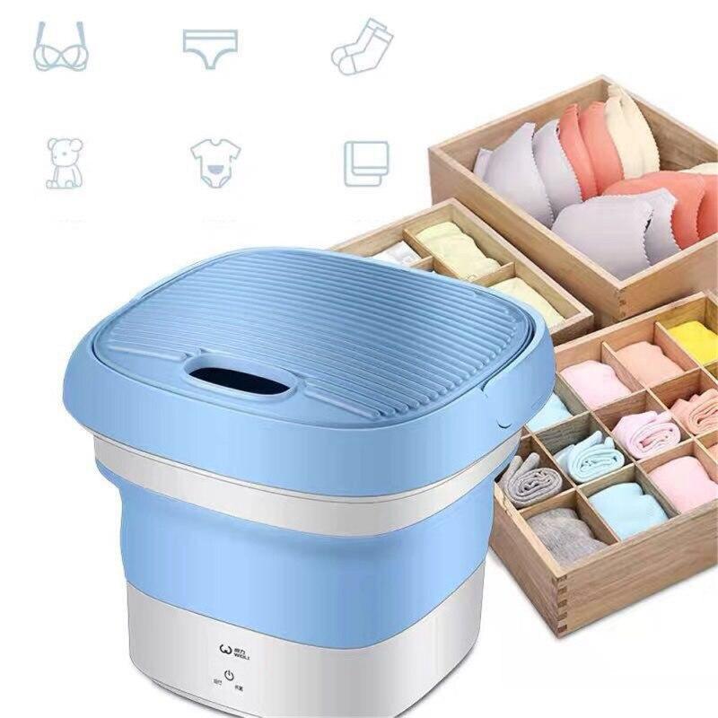 Portable Washing Machine Mini Washing Machine Ultrasonic Cleaning Machine Small Automatic Underwear Folding Washing Machine
