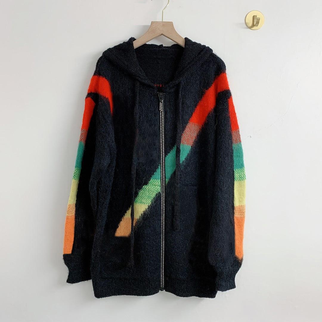 الخريف الشتاء النساء دعوى معطف الصدر منقوشة التطريز متماسكة قصيرة بليزر عادية بدلة على الموضة معطف التباين اللون قماش نسائي