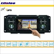 Autoradio Liislee pour Chrysler PT Cruiser 2001 ~ 2005 GPS Navi carte Navigation stéréo Audio vidéo lecteur CD DVD système multimédia