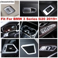 dashboard air ac vent outlet handle bowl gear box panel decor cover trim accessories interior for bmw 3 series g20 2019 2021