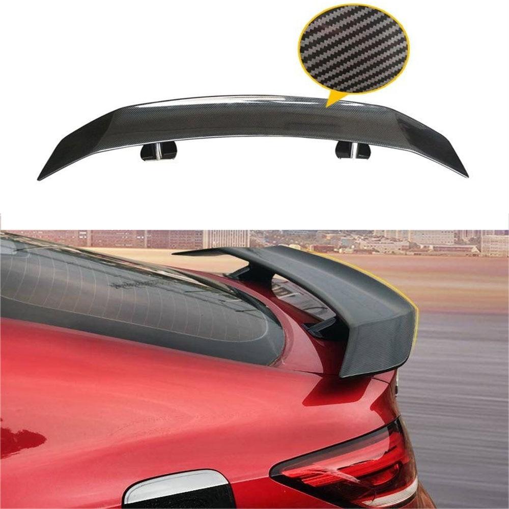 Universal spoiler car wing racing sedan wings tail car exterior trim abs spoilers gt carbon fiber tail wing car accessories
