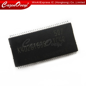 5pcs/lot K4D261638K-LC40 K4D261638K TSOP-66 In Stock