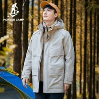 pioneer camp 2020 winter outdoors mens jackets coats waterproof wind proof warm think coats for male xyr016197s