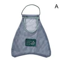 mesh bag storage bag fruit vegetable garlic onion hanging shopping reusable hanging eco breathable mesh organizer tote o3l3