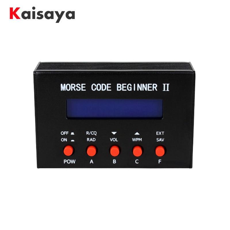 CW decoding Trainer Reporting Hand Station Shortwave Radio Morse Morse Code Trainer C3-010