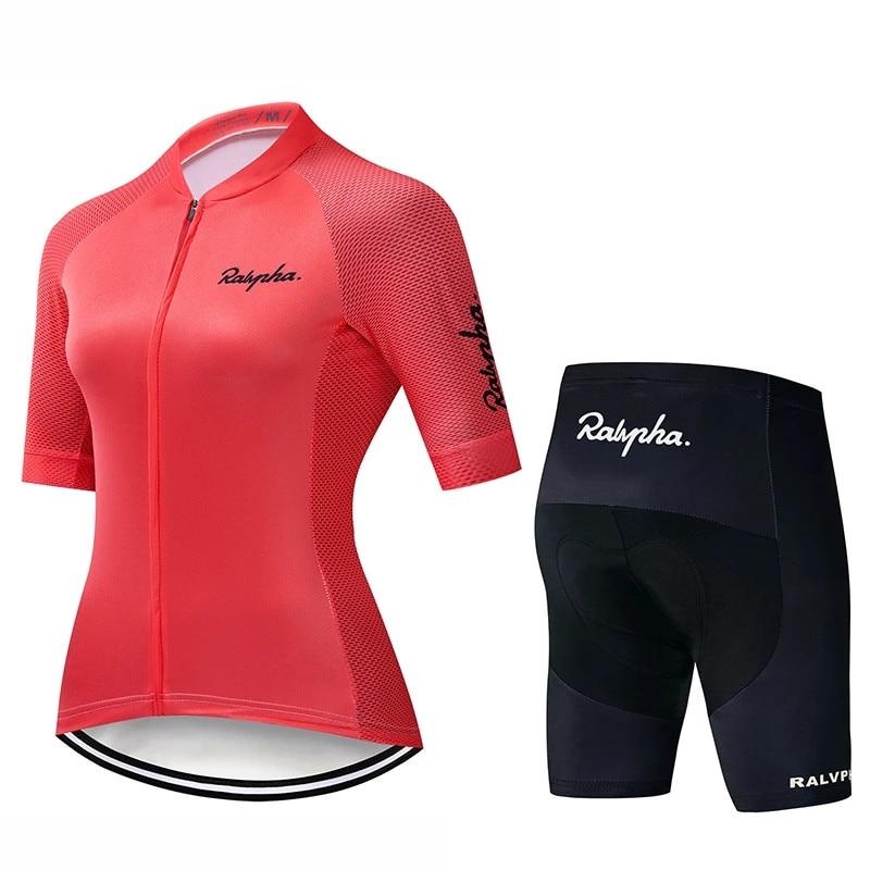 2021 Pro equipo Ciclismo Jersey verano Camisetas para mujer Bicicleta camiseta Ciclismo...