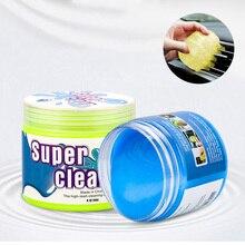 Gel de nettoyage utile pour nettoyeur de voiture   Nettoyant de voiture à domicile, colle molle, outil de nettoyage magique, dissolvant de boue, sortie despacement, nettoyeur de poussière pour clavier de tableau de bord