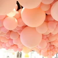 3050pcslot pink white clear transparent balloons latex helium float birthday party 5 36inch baby shower wedding decor balls