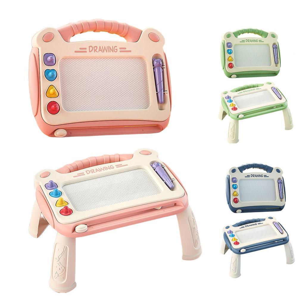 Детская магнитная доска для рисования со стираемыми рисунками, Детская магнитная доска для рисования, искусство и ремесла для детей доска для рисования детская quercetti для обучения математике и рисования 5323