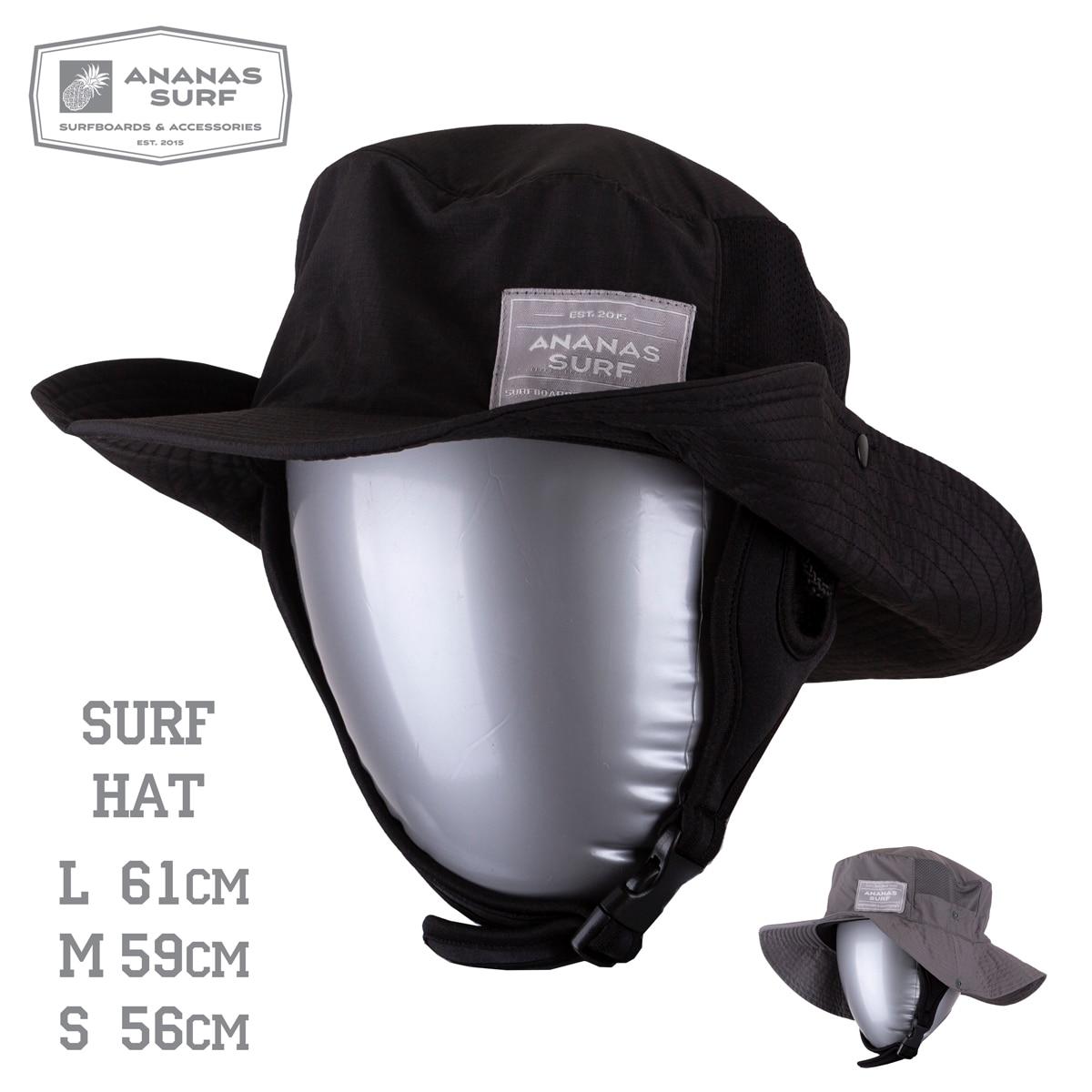 Ananas Surf indo surfing backet hat with strap kitesurf surf cap fisherman water sport sun hats men women boy girl unisex