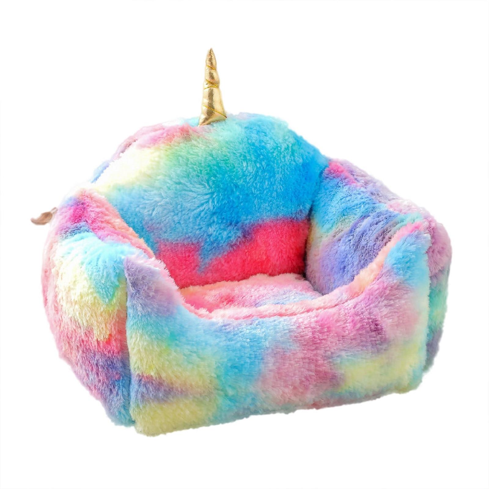 Coroa sofá forma inverno espessamento pequeno pet inverno quente almofada de dormir