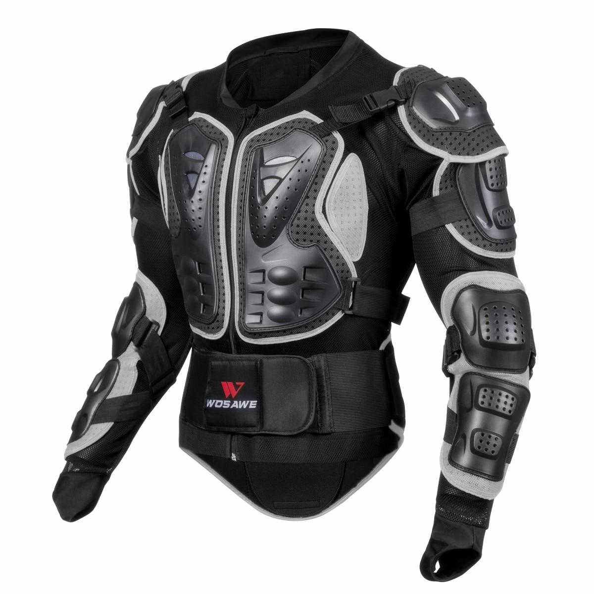 WOSAWE Waterproof Motorcycle Armor Jacket Off-road Motocross Jacket Racing Riding Motorbike Protector Gear Racing Guards Adult enlarge