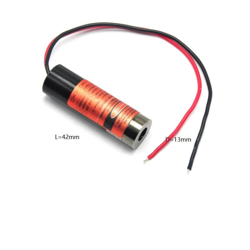 Лазер диод модуль 650 нм 5 мВт 3 В-5 В красный лазер точка головка фокусируемый малый диаметр сделано это легко для 3D печати крепление подставка