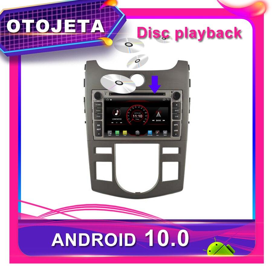 OTOJETA DVD del coche Android 10,0 coche GPS para KIA FORTE CERATO KOUP 2008-2011 auto Radio Multimedia grabadora de cinta de navegación bluetooth