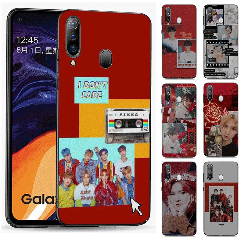 Suave de silicona TPU para Samsung Nota 8 9 10 Plus 10 Lite M10 M20 M30 cubierta Suga K Pop min yoongi K Pop