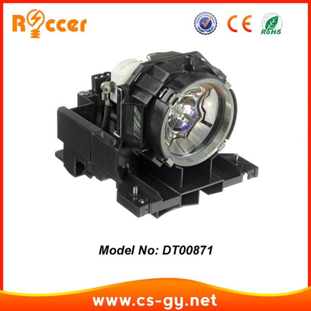 Compatible Bombilla Lámpara Del Proyector DT00871 proyector con la vivienda para HITACHI CPX615/CPX705/CPX807 NSHA 275 W