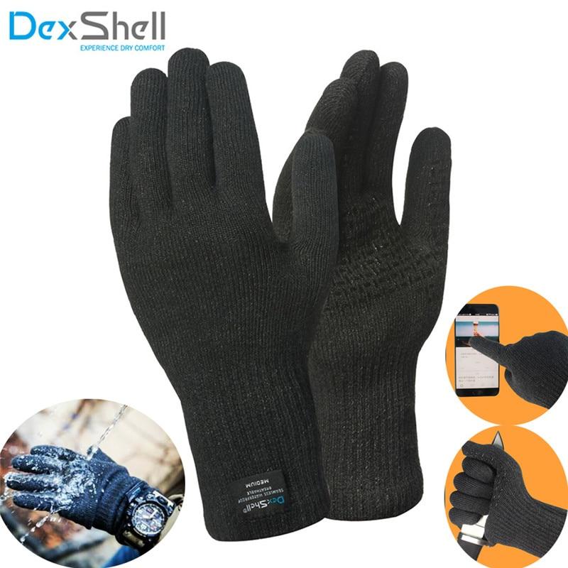 Dexshell Waterproof Gloves Level 4 Flame Retardant Level5 Cut-proof Men Fishing Sports Skiing Watertight Gloves Climbing