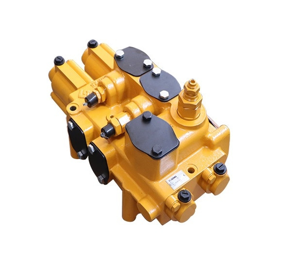 XCMG عجلة قطع غيار جهاز تحميل توزيع صمام 803084842 D32(25MPa)