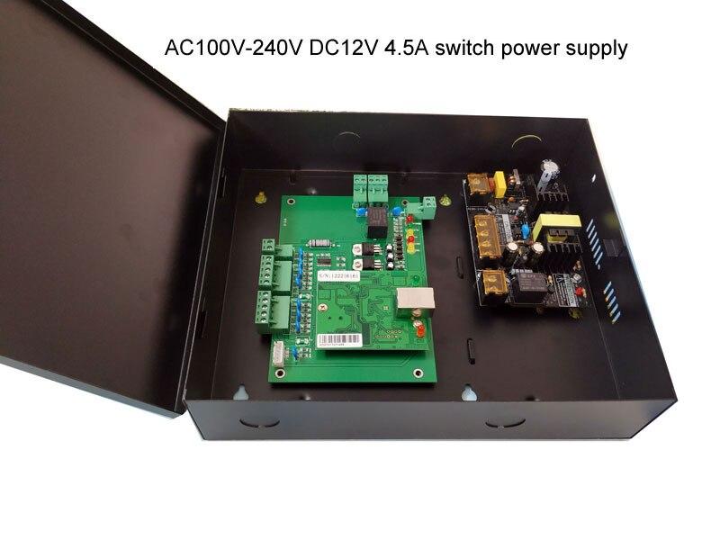 Control de acceso de una sola Puerta y caja de alimentación fuente...