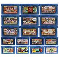Tarjeta de consola de cartucho de videojuegos de 32 bits, todo en 1, compilación en inglés para Nintendo GBA