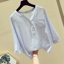 Harajuku T Shirt Women Summer Stripe Tshirt Women Funny Women Clothes 2020 Shirts Camisetas Verano Mujer Plus Size#P30