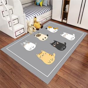 Multichoice Cartoon Style Anti-slip Rug For Living Room/bedroom Area Rug/hallway Door Mat Wardrobe New Design Carpets