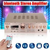 Amplificateur HiFi bluetooth 920W 220V 5CH  stereo AV Surround FM  audio karaoke  cinema a domicile