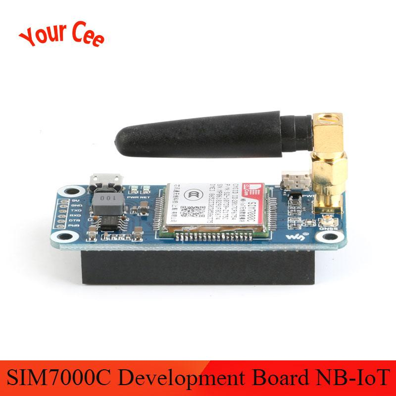 SIM7000C модуль SIM7000C макетная плата NB-IoT/eMTC/EDGE/GPRS/GNSS/GPS 4G плата расширения связи для Raspberry Pi