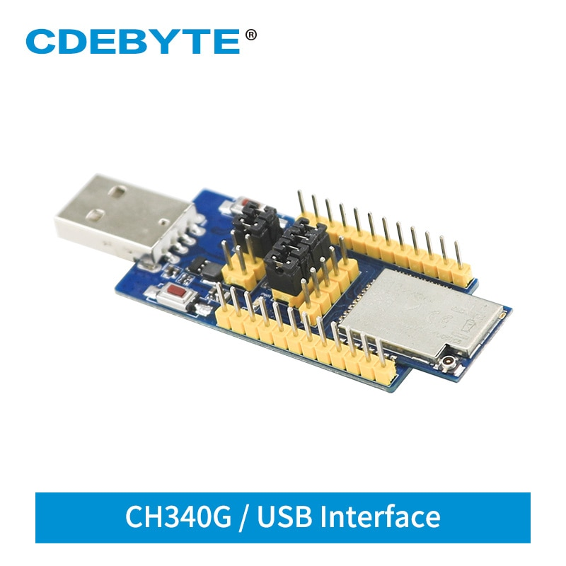 2pc lot e810 485 u01 ch340 usb rs485 test board for uart wireless serial port modem E18-TBH-27 CH340G USB Interface 2.4GHz 27dBm UART Serial Port Test Board ZigBee Module