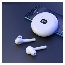 TWS Bluetooth 5.0 White Earphone 800mAH Wireless Headphones Charging Box With Microphone Headset For