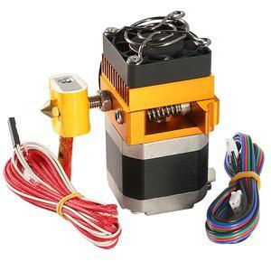 Mk8 cabeça da extrusora j-head hotend 0.4mm bocal kit 1.75mm filamento peças de impressoras 3d extrusão