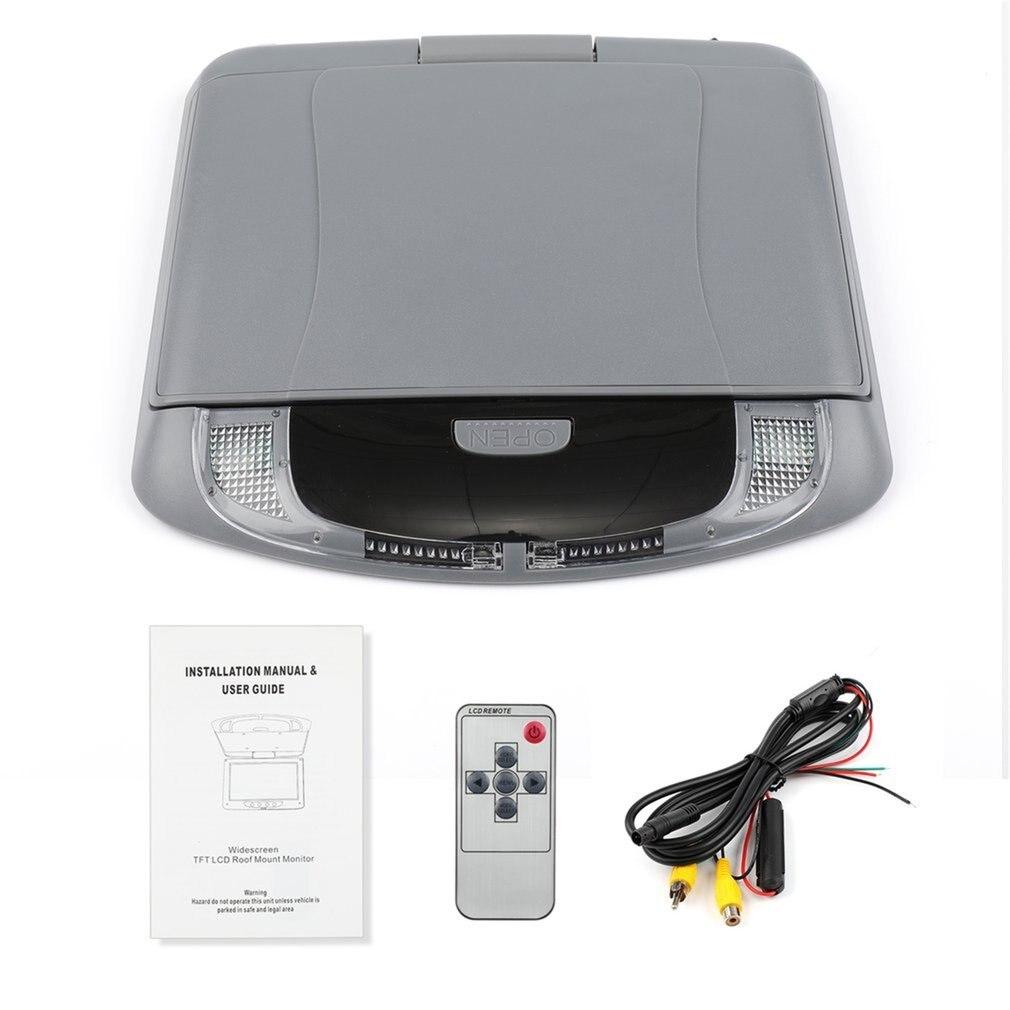 Автомобильный цветной монитор с креплением на крышу, 9 дюймов, 800*480