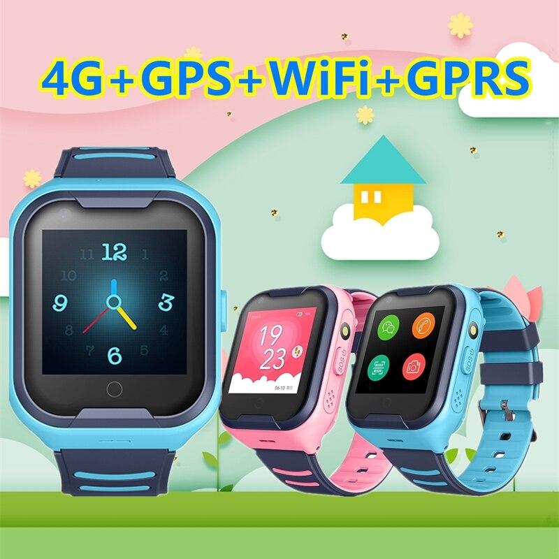 Inteligente à Prova Chamada de Vídeo Monitor do Bebê Sos para Crianças Miúdo Relógio Dwaterproof Água 4g Gps Wifi Lbs Rastreador Phonever Anti Perdido Smartver S36e