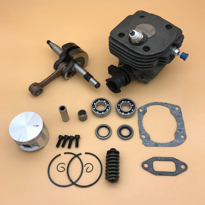 48mm & 50mm Cilindro Pistão Virabrequim Rolamento de Buffer Primavera Spark Plug Kit Para Husqvarna 362 365 371 372 Peças de Motosserra 372XP