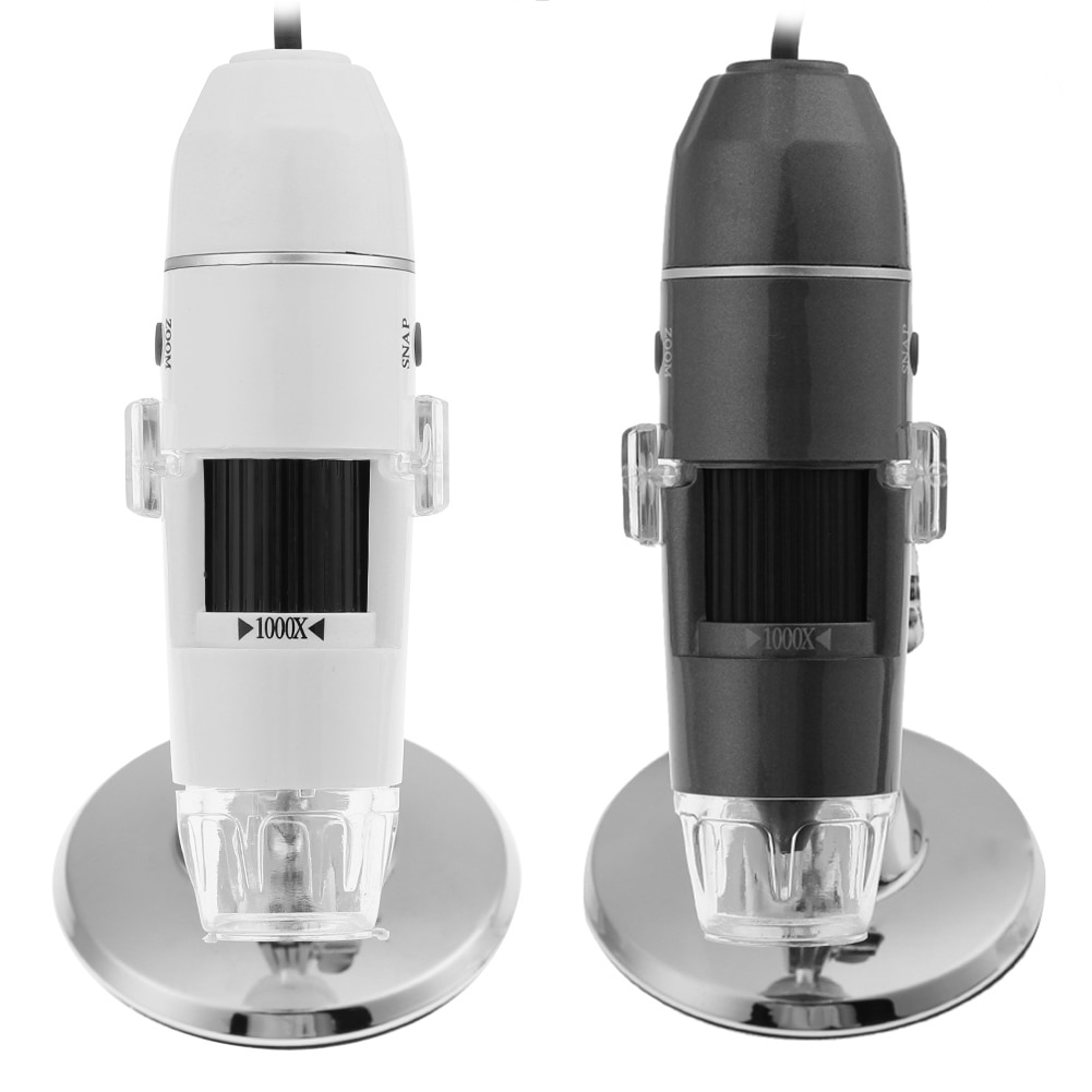 1000X 8 LED USB Digitale Elektronische Mikroskop 200W Hohe Auflösung Zoom Handheld Endoskop Kamera Microscopio Lupe