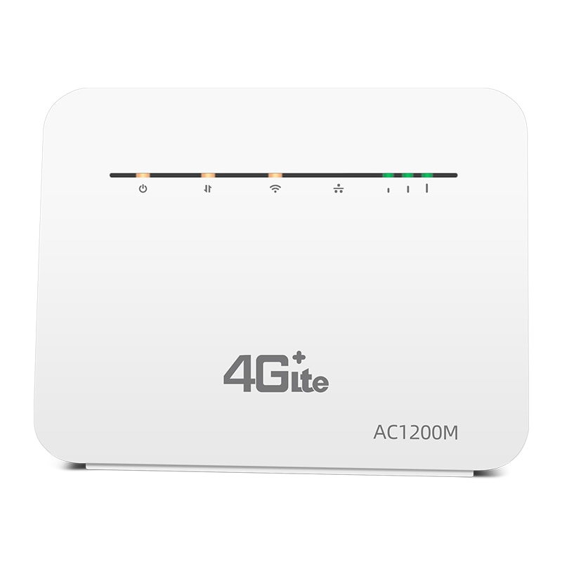 4G Router SIM Cat6 2.4G&5G Wireless Home WIFI Router Unlocked FDD/TDD With RJ45 Port Up to 64 Wifi Users enlarge