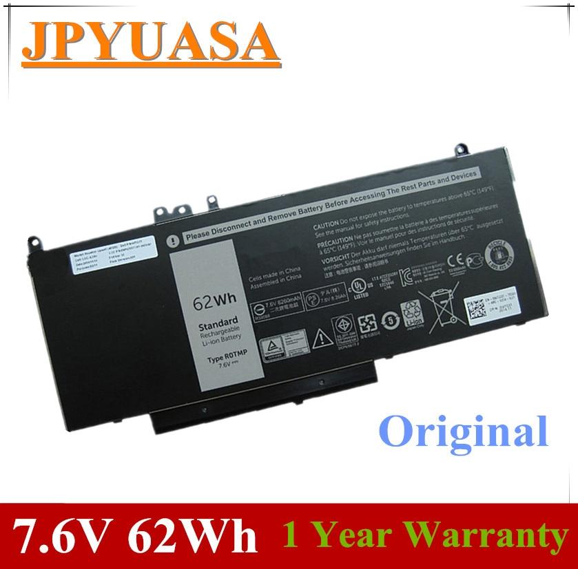7XINbox 7,6 V 62Wh Original ordenador portátil batería 6MT4T 7V69Y TXF9M 79VRK para Dell Latitude 14 5470 E5470 15 5570 E5570 15 3510 M3510